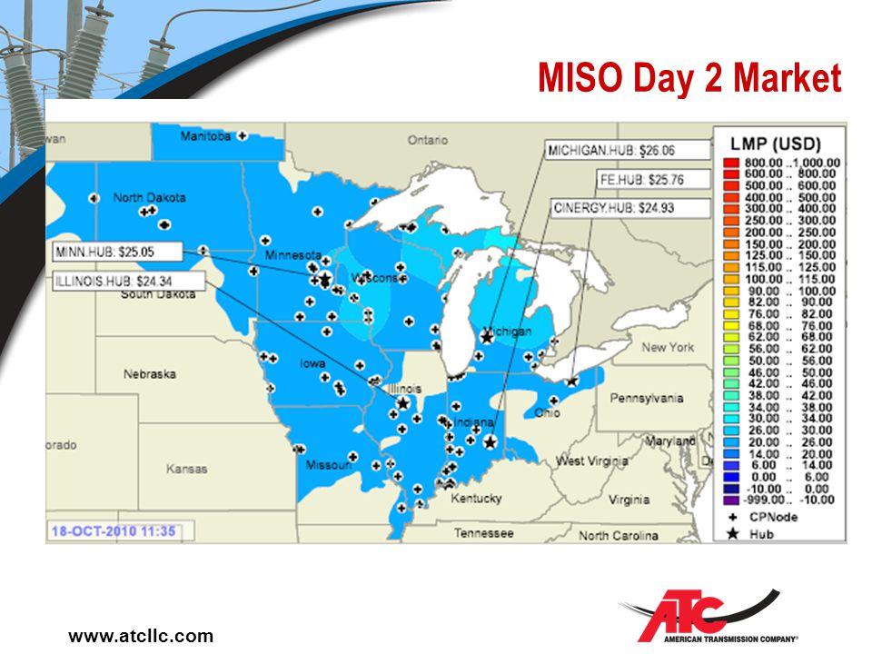 www.atcllc.com MISO Day 2 Market