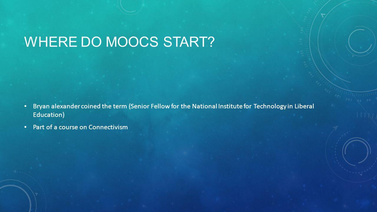 WHERE DO MOOCS START.
