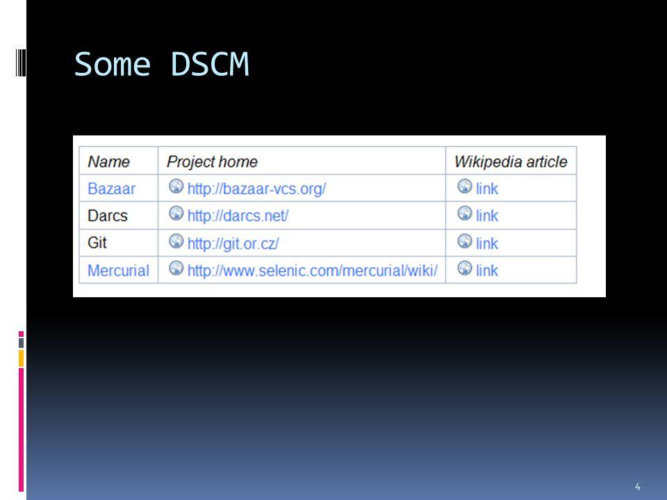 Some DSCM 4