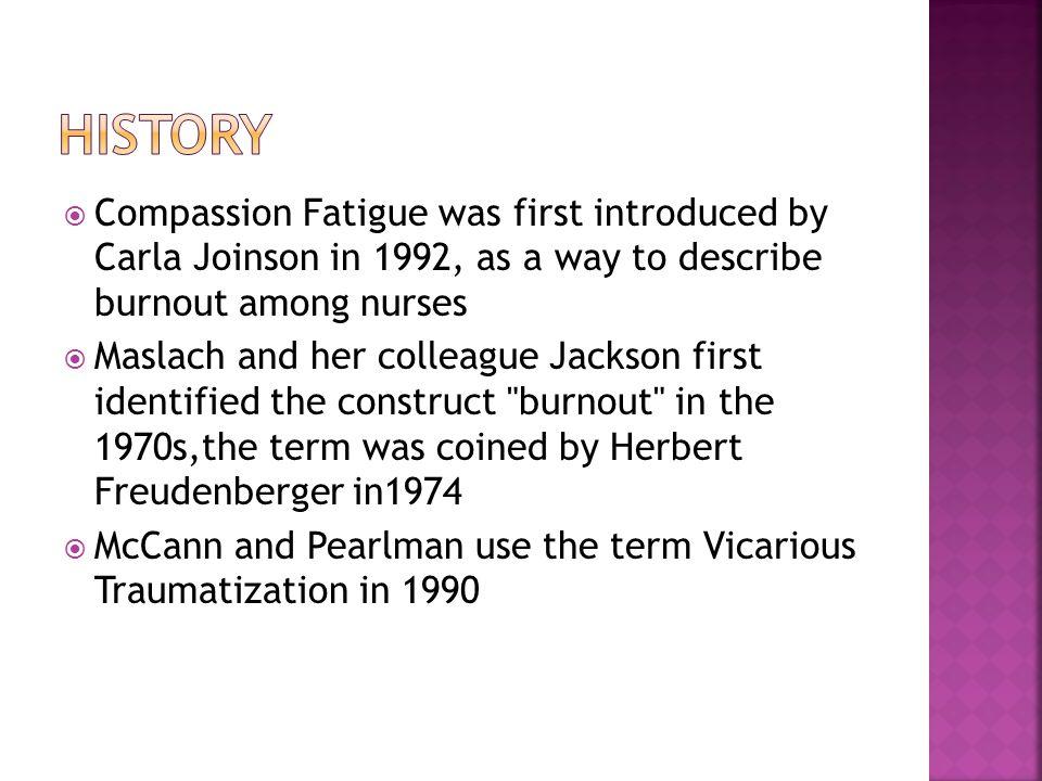  American Psychological Association (APA):  compassion fatigue.