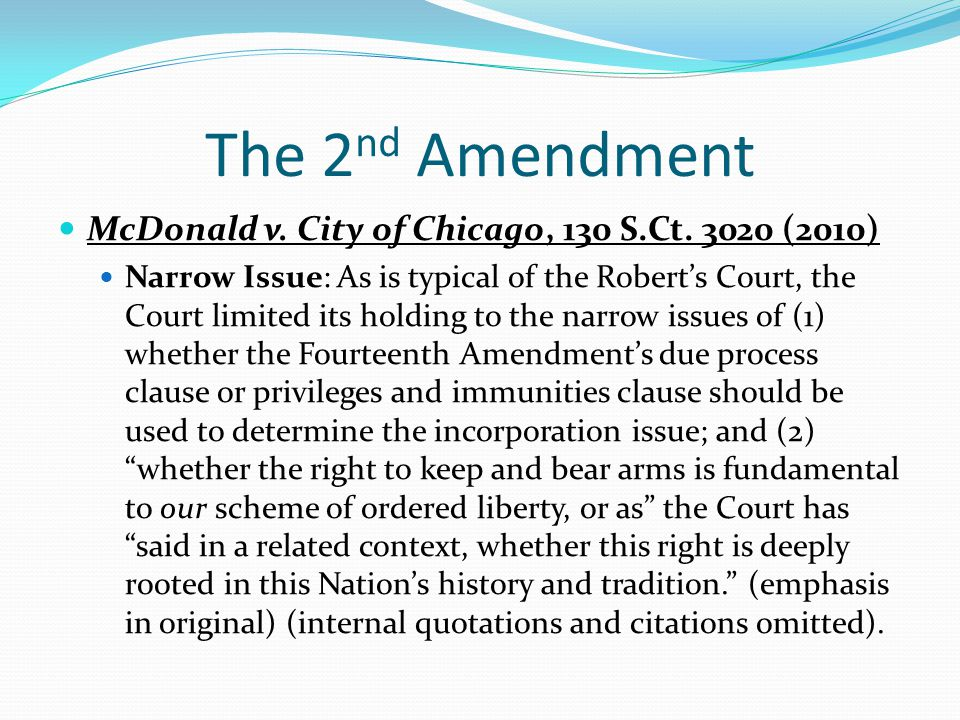 The 6 th Amendment Batson Challenges Berghuis v.Smith, 130 S.Ct.