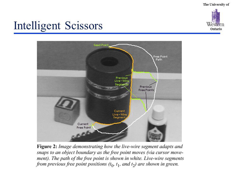 The University of Ontario Intelligent Scissors