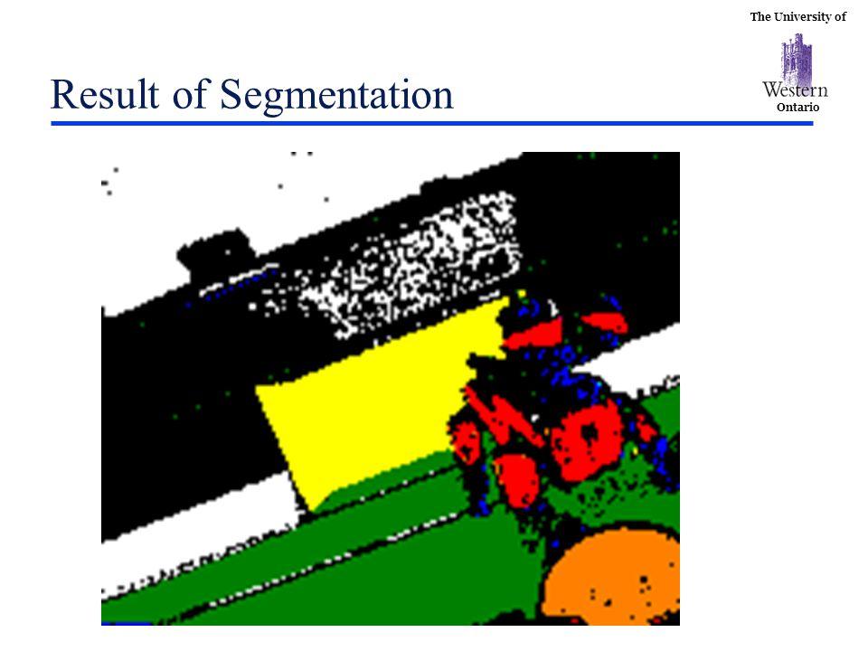 The University of Ontario Result of Segmentation
