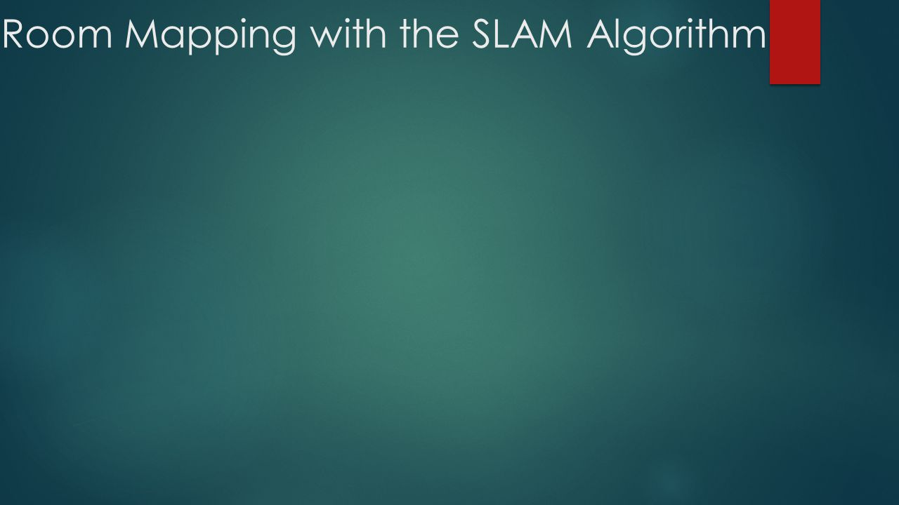 Room Mapping with the SLAM Algorithm
