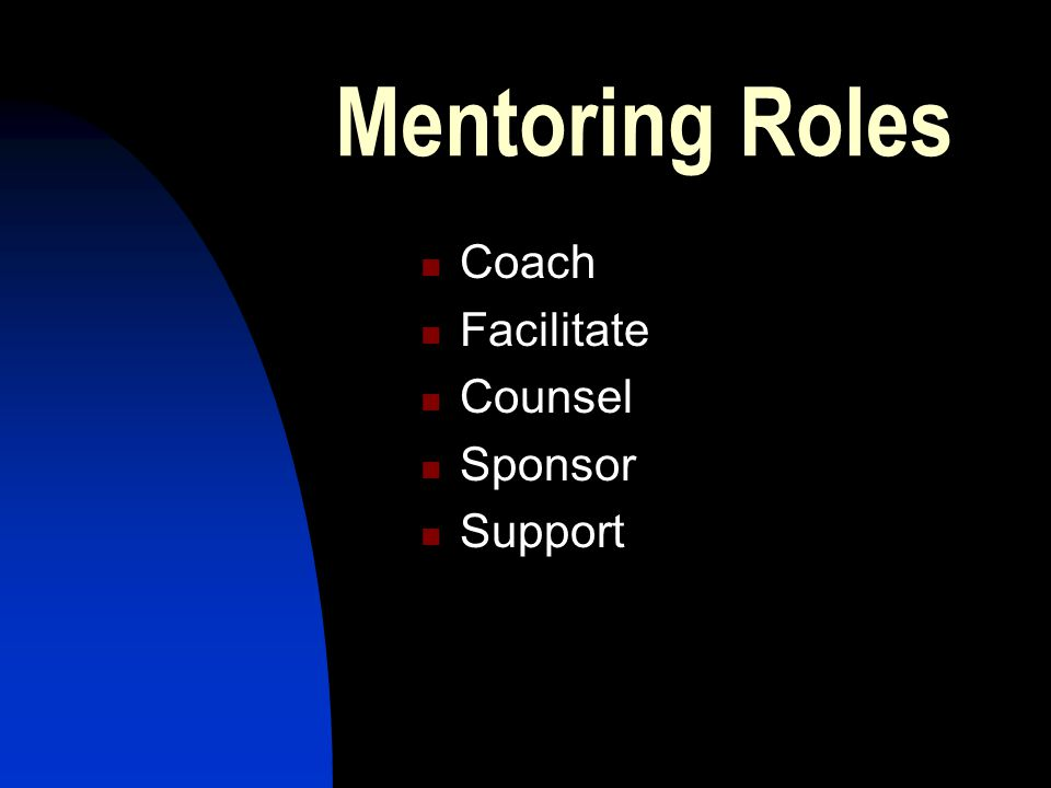 Empowerment scenarios Scenario 1: Your mentee has not contacted you for two months Scenario 2: Your mentee is having trouble with one of their athletes and asks you to intervene Scenario 3: Your mentee has just 'failed' their assessment (you were not the assessor).