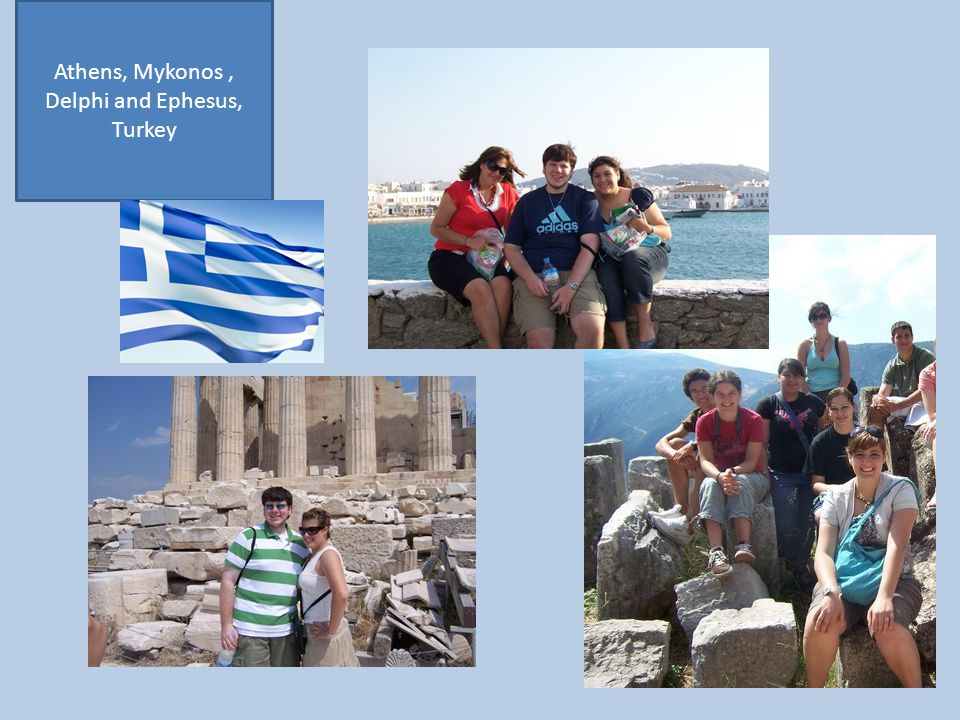 Athens, Mykonos, Delphi and Ephesus, Turkey