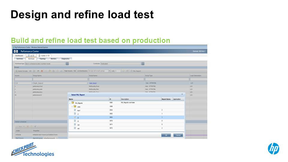 Compare Load Test to Production Evaluate test results vs production data Hone in on testing discrepancies