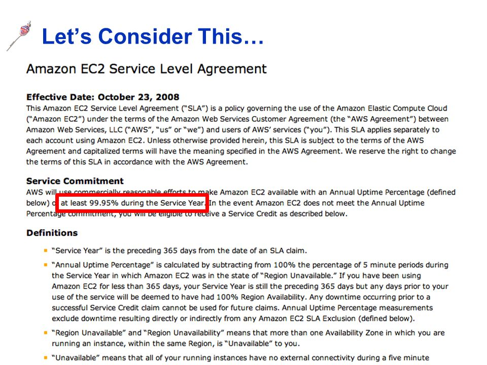 CSE 486/586, Spring 2013 One Reason: Impossibility of Consensus Q: Should Steve give an A to everybody taking CSE 486/586.