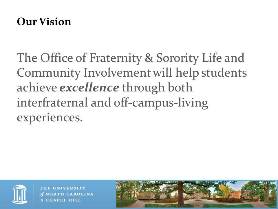 OFSL-CI Mission, Vision & Core Values What are Core Values.