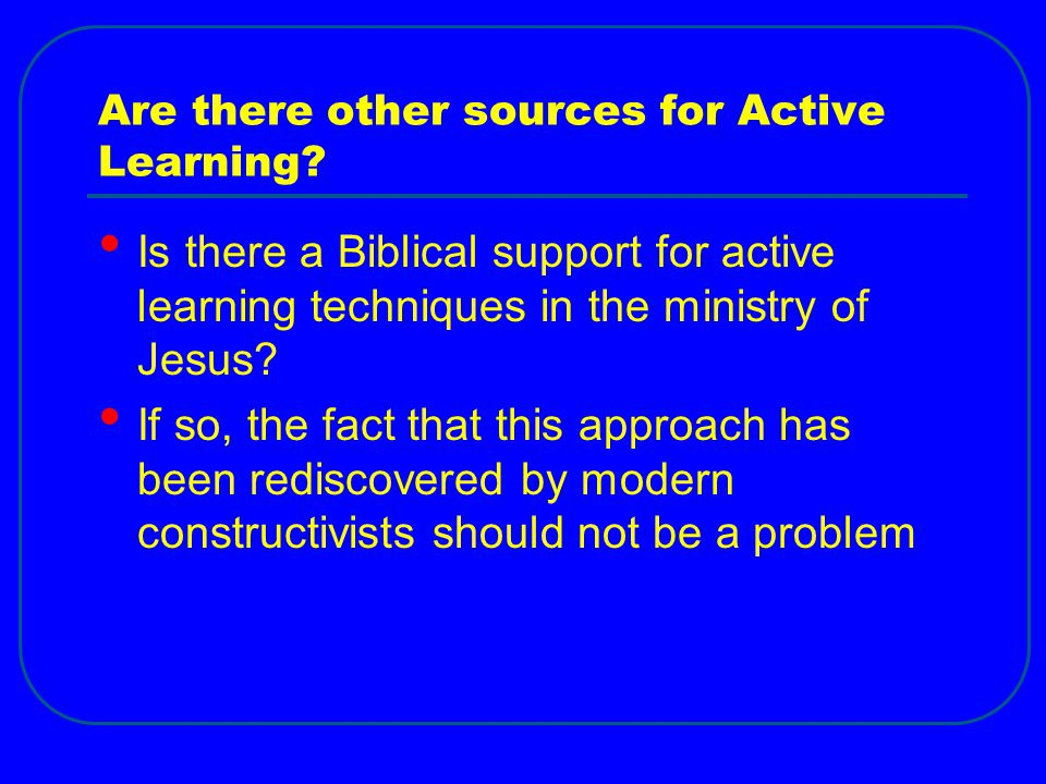 Are there other sources for Active Learning.