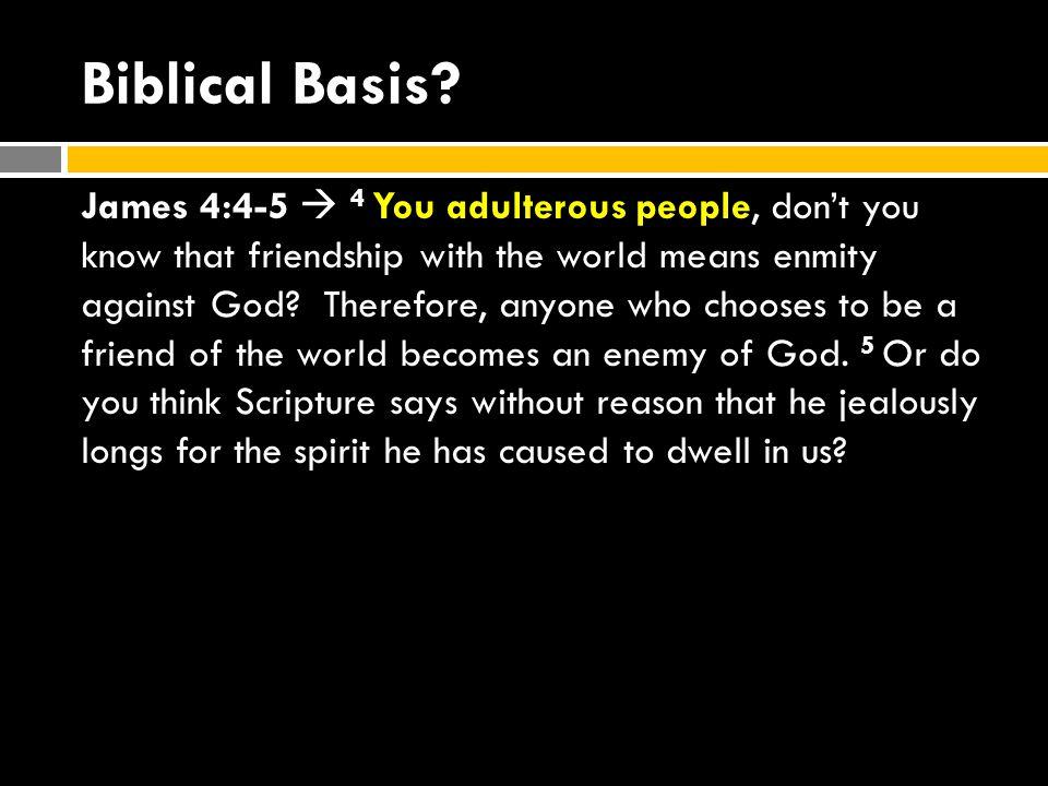 Biblical Basis.
