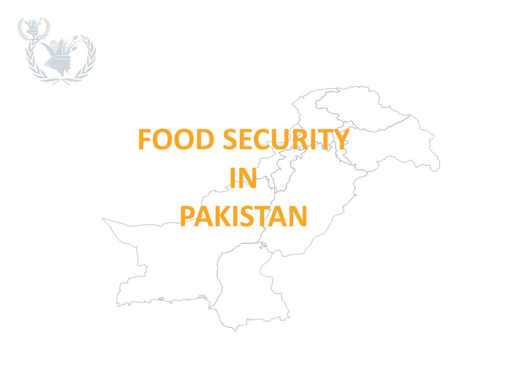 FOOD SECURITY IN PAKISTAN