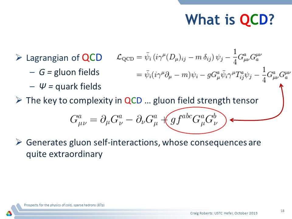 What is QCD.