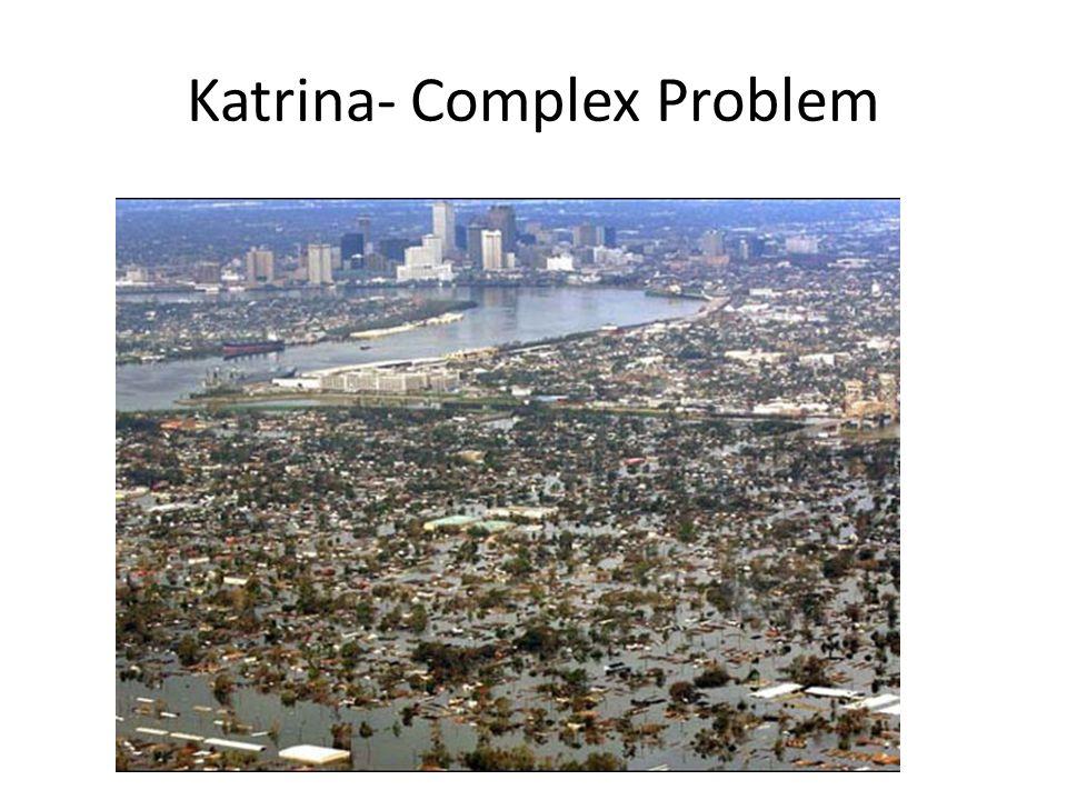 Katrina- Complex Problem