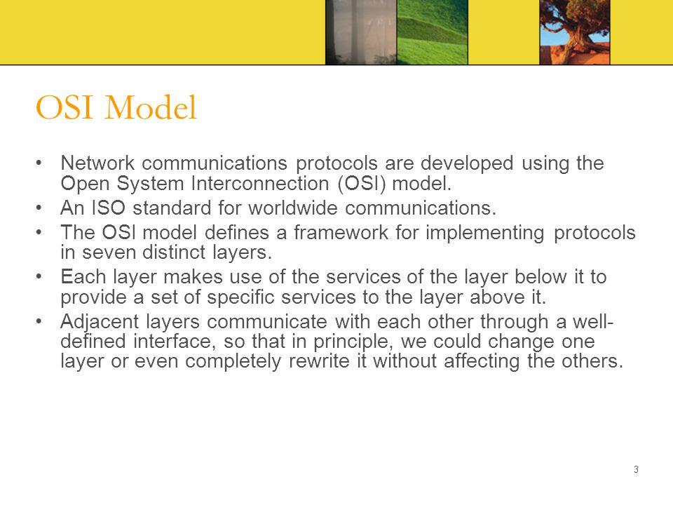 OSI Layers 4