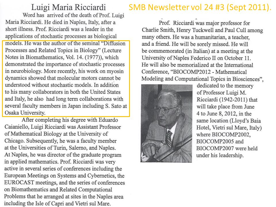 SMB Newsletter vol 24 #3 (Sept 2011).
