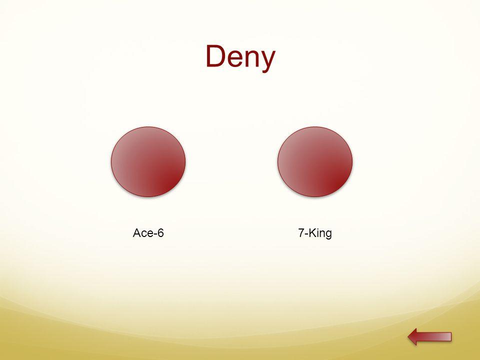 Deny Ace-67-King