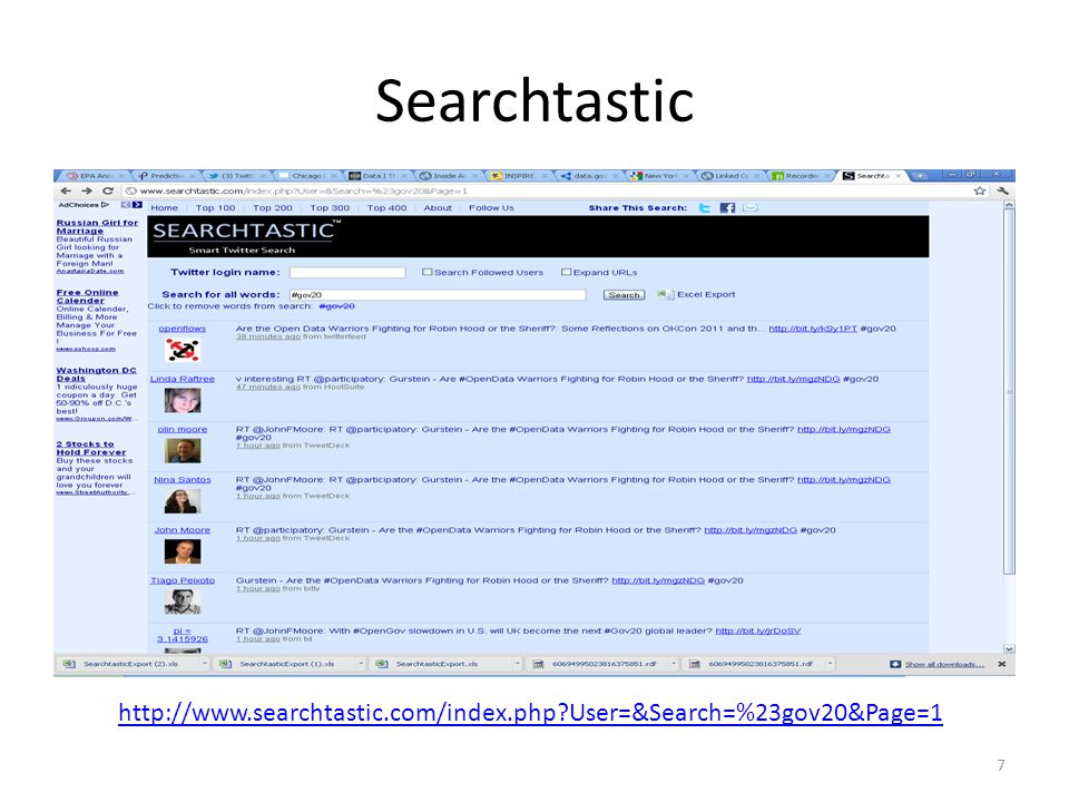 Searchtastic http://semanticommunity.info/@api/deki/files/12979/=SearchtasticExport%2523gov2007042011.xlsx 8