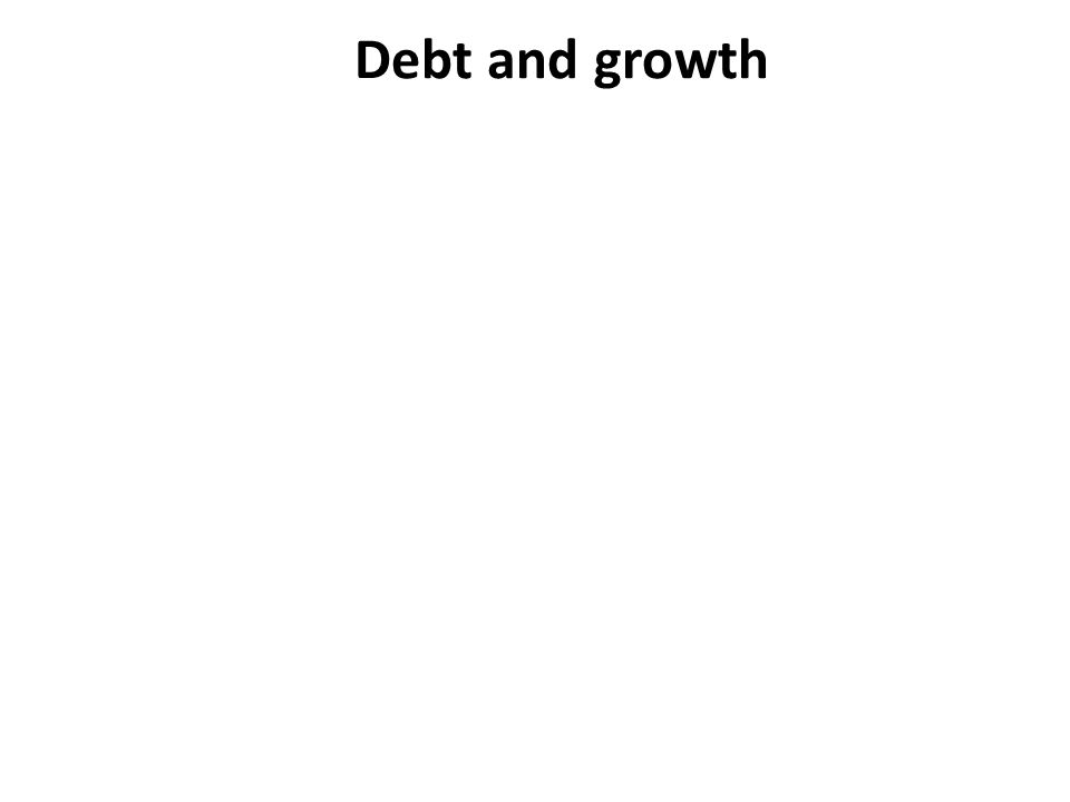 Debt and growth