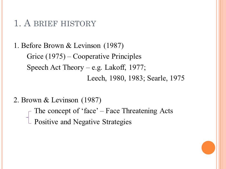 1.A BRIEF HISTORY 3.