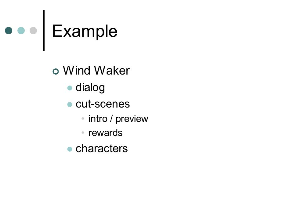 Example Wind Waker dialog cut-scenes intro / preview rewards characters