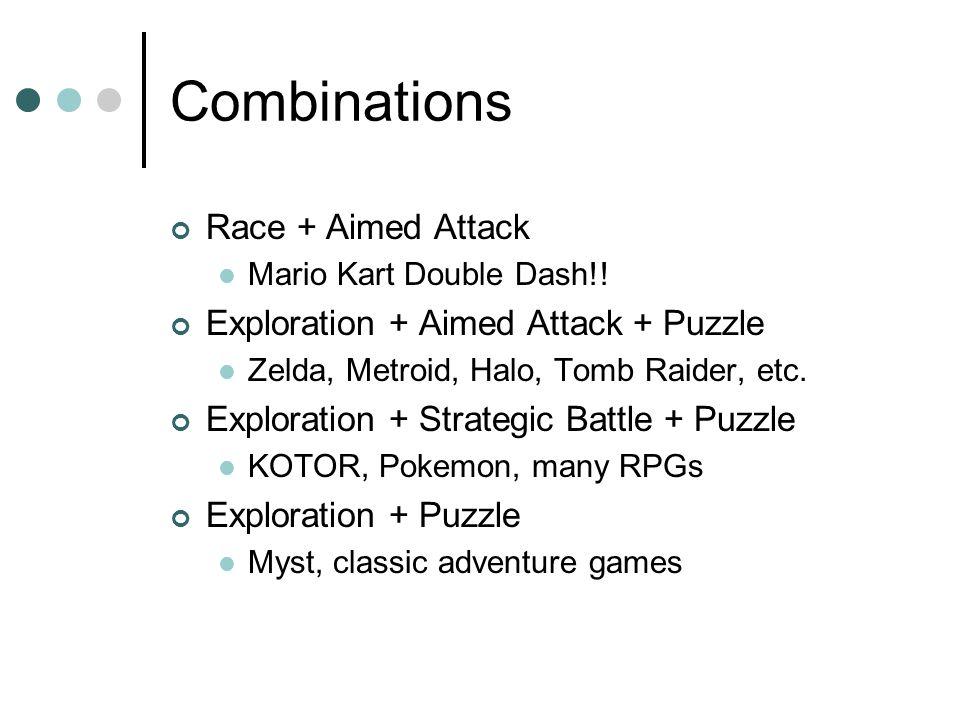 Combinations Race + Aimed Attack Mario Kart Double Dash!.