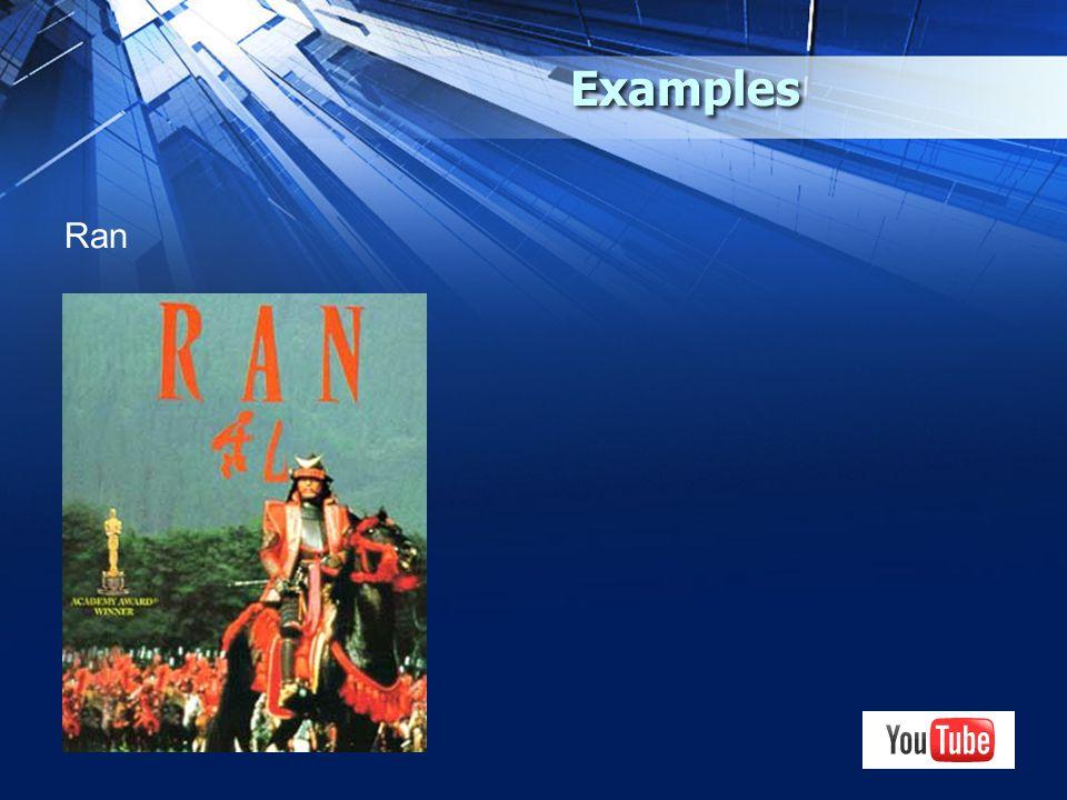 Examples Ran