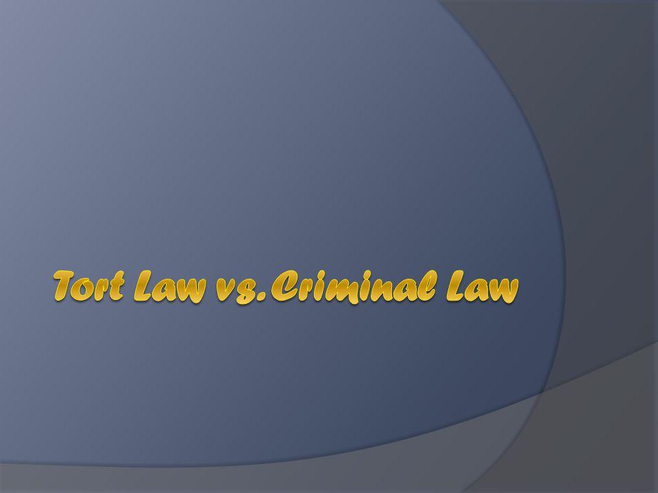 Criminal Law vs.
