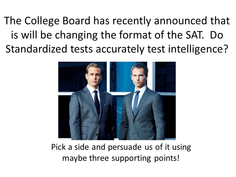 The College Board has recently announced that is will be changing the format of the SAT.