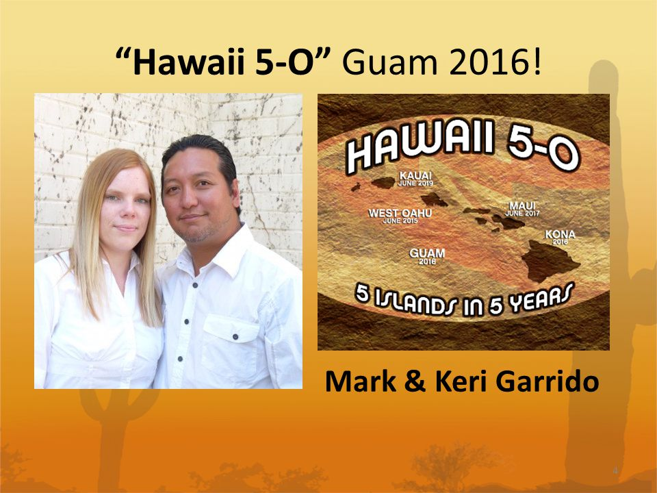 Hawaii 5-O Guam 2016! 4 Mark & Keri Garrido