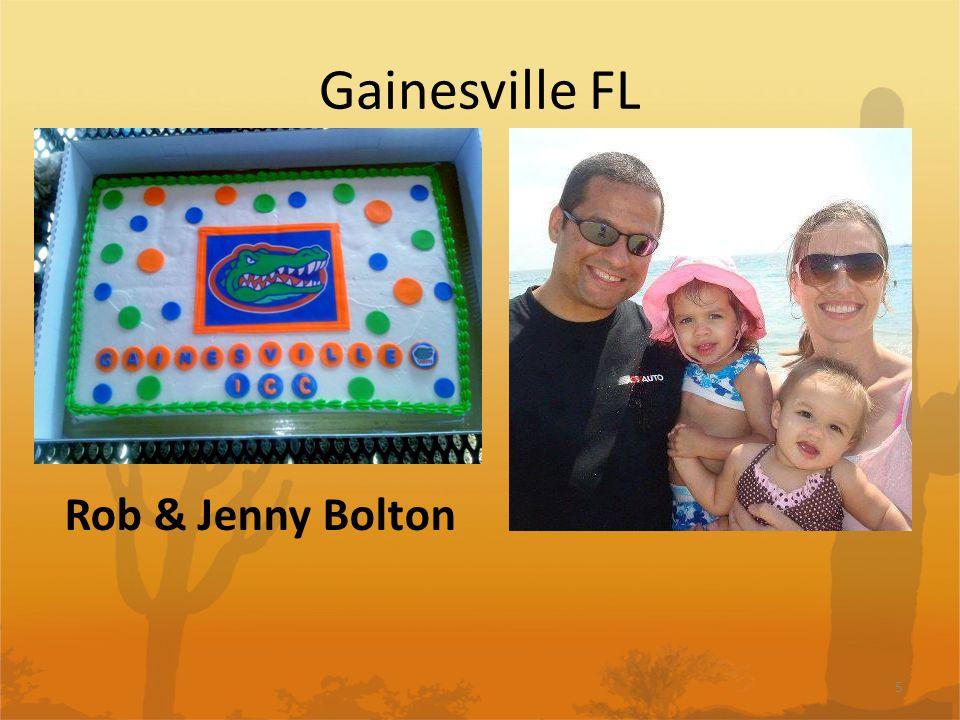 Gainesville FL 5 Rob & Jenny Bolton
