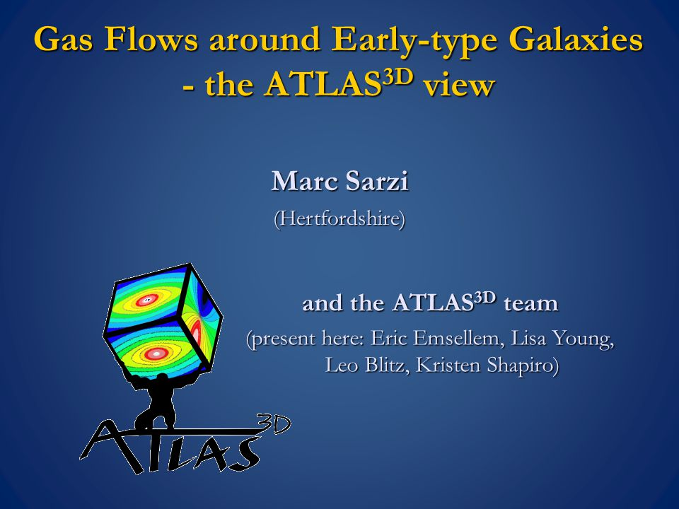 Gas IN - the origin of the gas in ETGs internal triaxial 0 p / 2 p N external triaxial 0 p / 2 p N/2 Clues from the Gas-Star Misalignment Sarzi et al (2006) And it was already recognised that slow-rotators mainly accrete their gas.