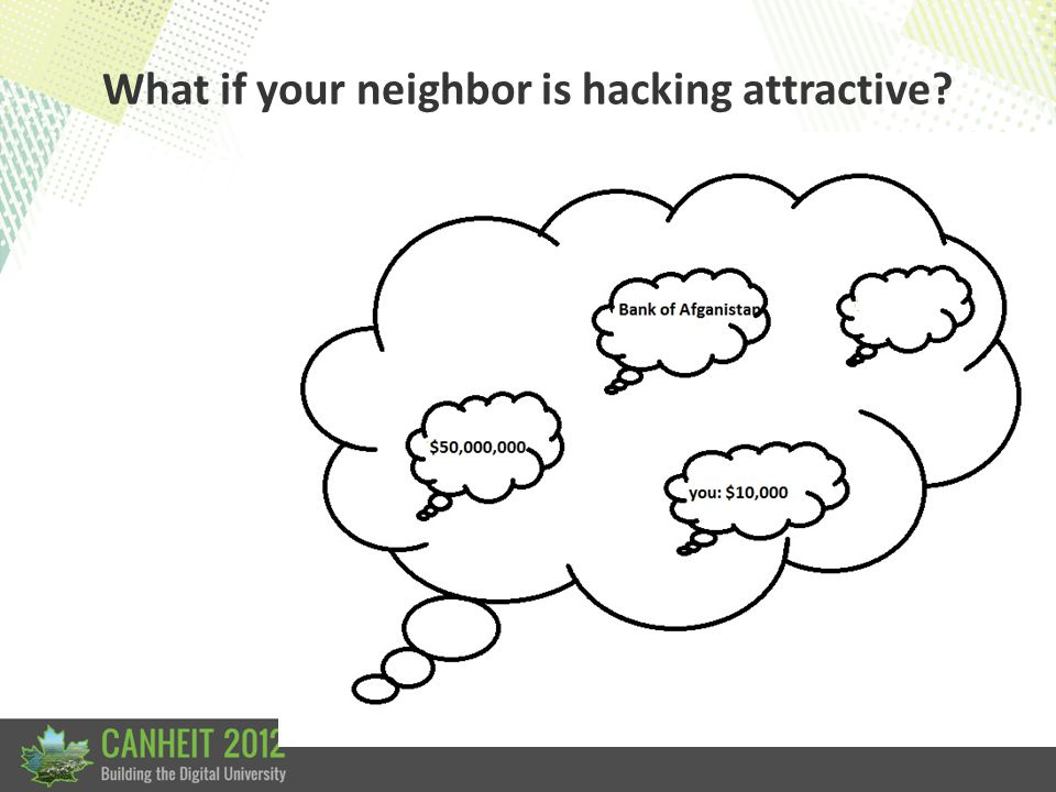 What if your neighbor is DoS attractive
