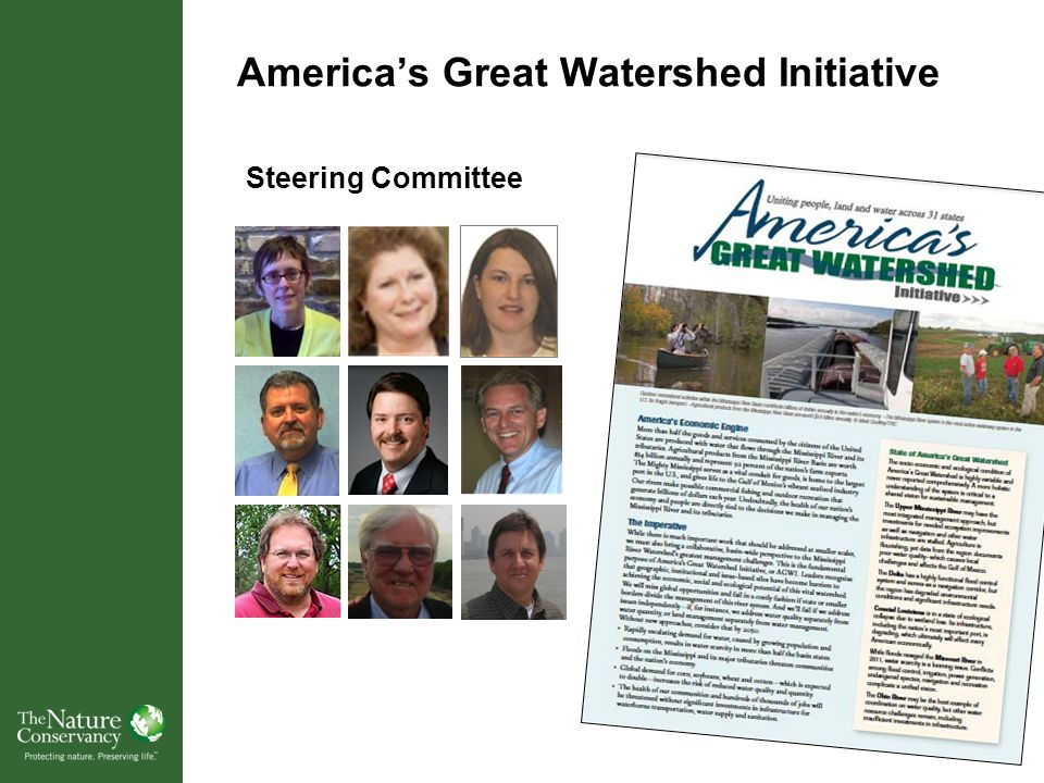America's Great Watershed Initiative Steering Committee