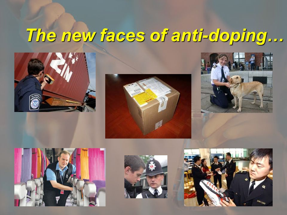 The new faces of anti-doping…