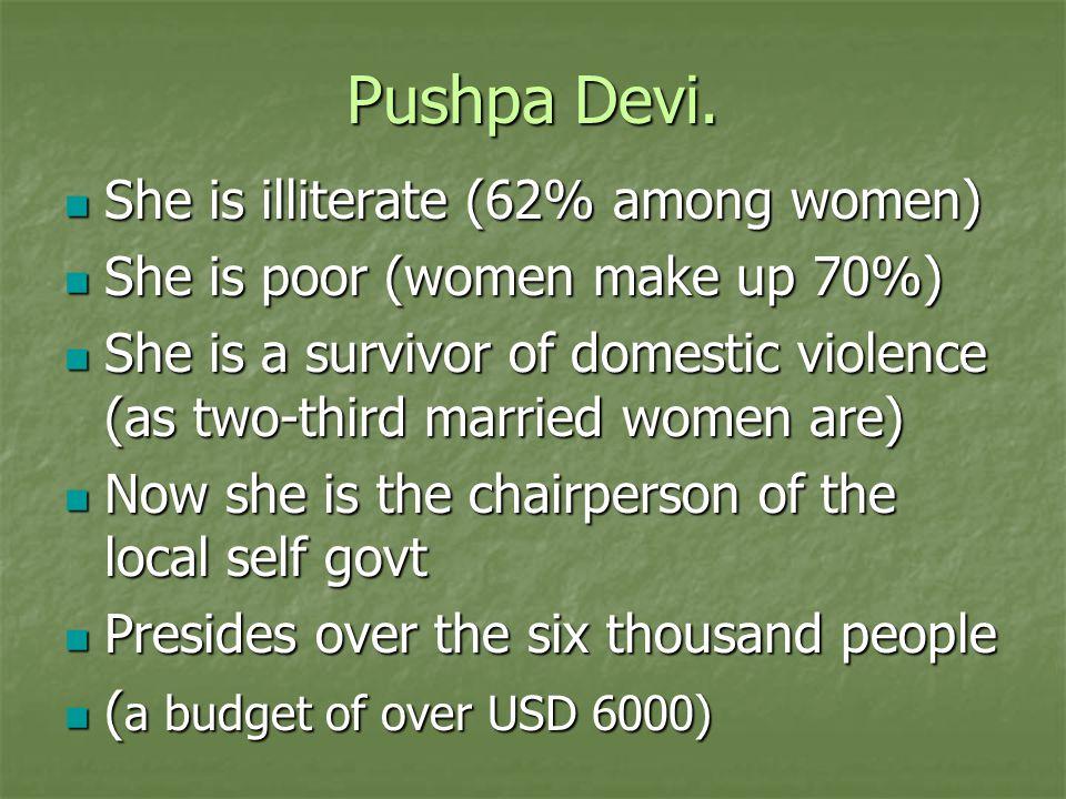 Pushpa Devi.