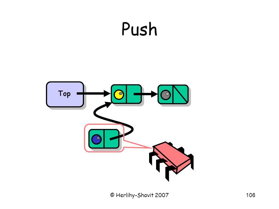 © Herlihy-Shavit 2007106 Push Top