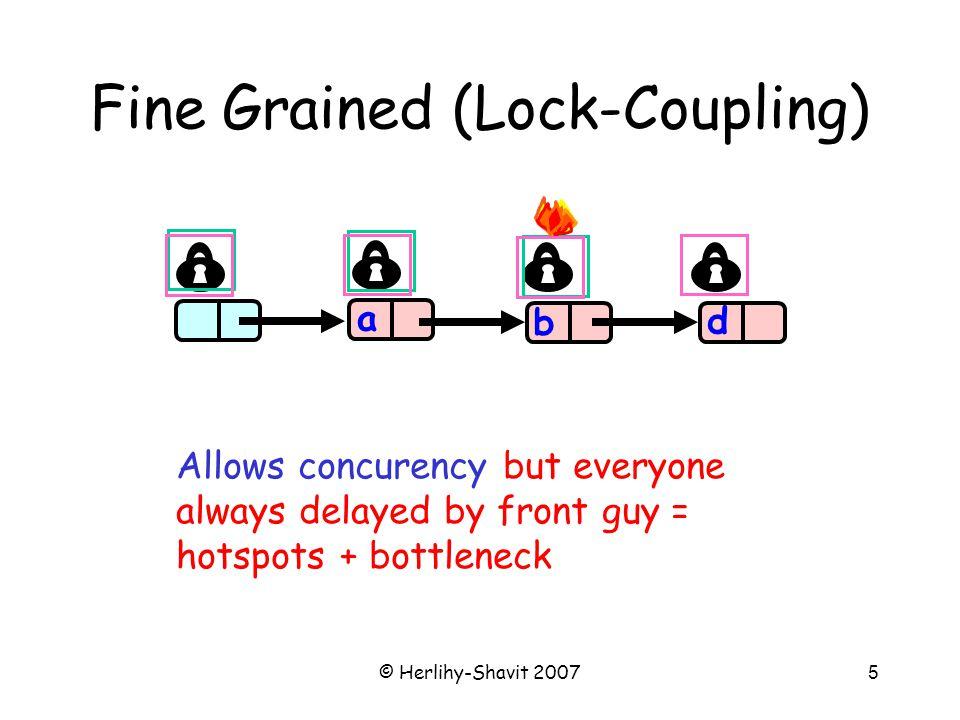 © Herlihy-Shavit 2007146 Lock-free Exchanger Slot State = 0 item stamp/state 0 CAS