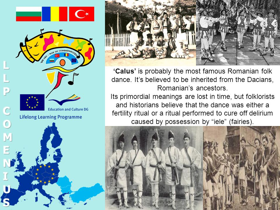 'Calus' is probably the most famous Romanian folk dance.