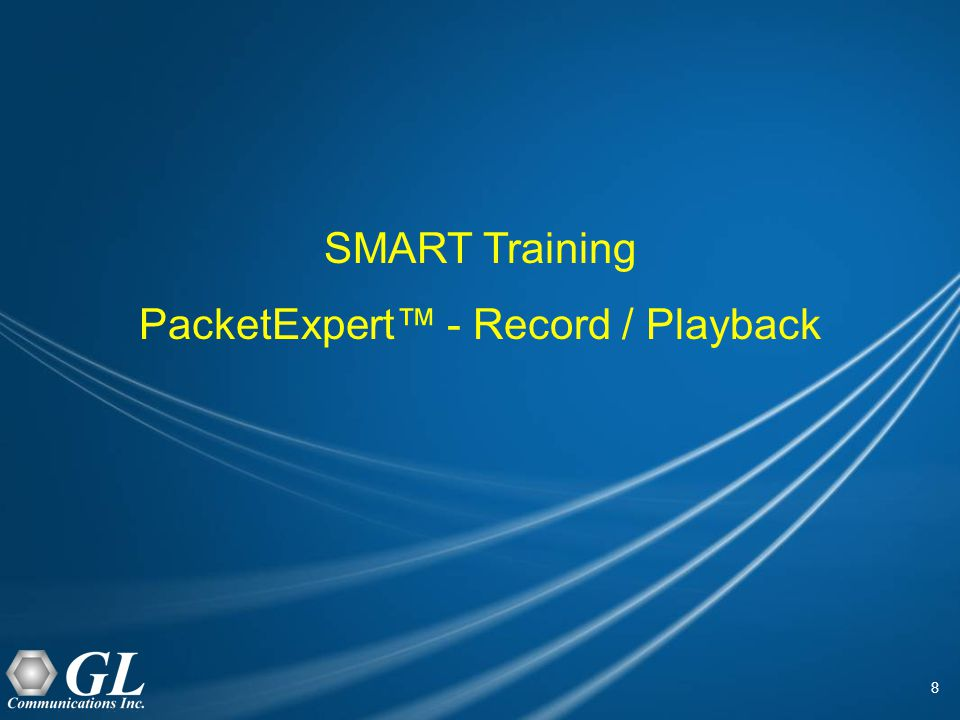 19 Results - Playback Only Mode Playback Time – Displays total test run time duration.