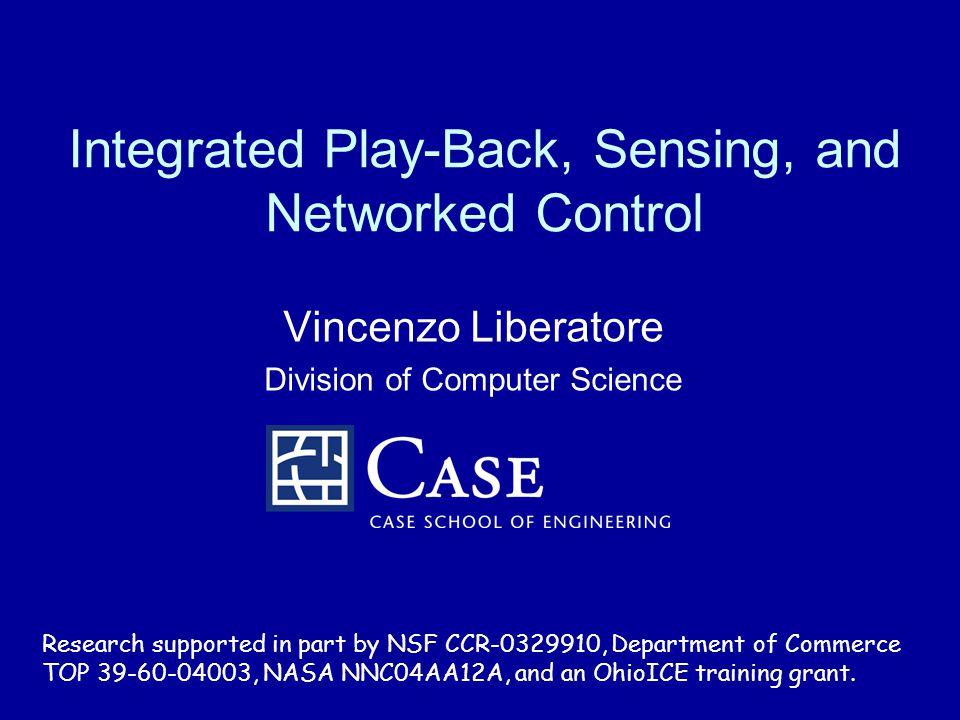 V. LiberatoreControl Playback22 Packet losses Figure 8