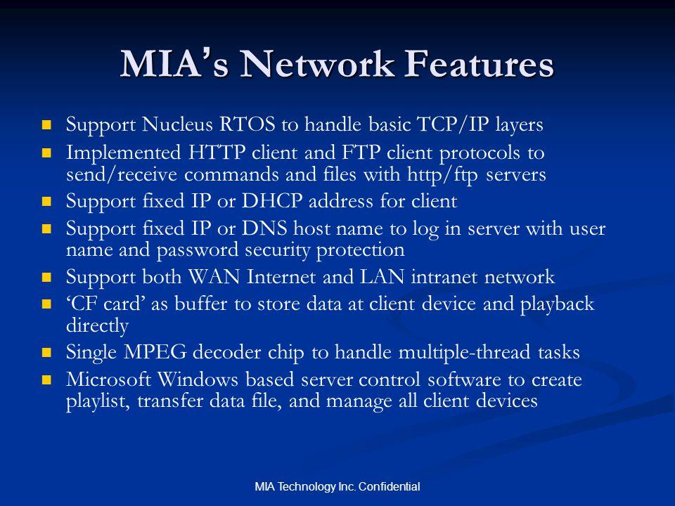 MIA Technology Inc.