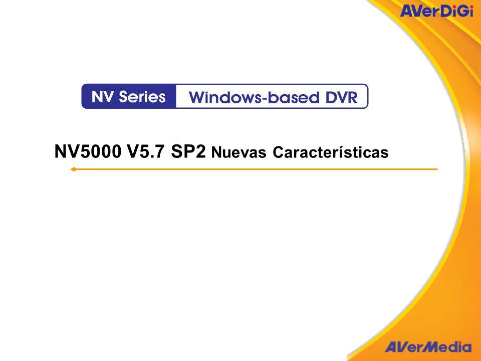 NV5000 V5.7 SP2 Nuevas Características