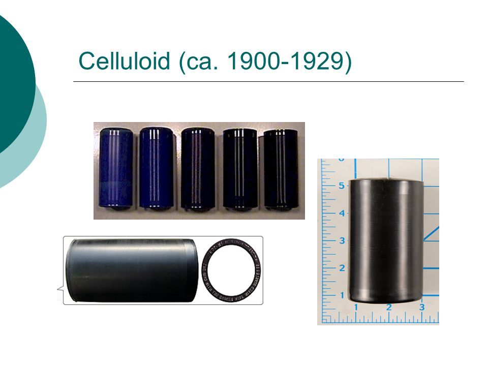 Celluloid (ca. 1900-1929)