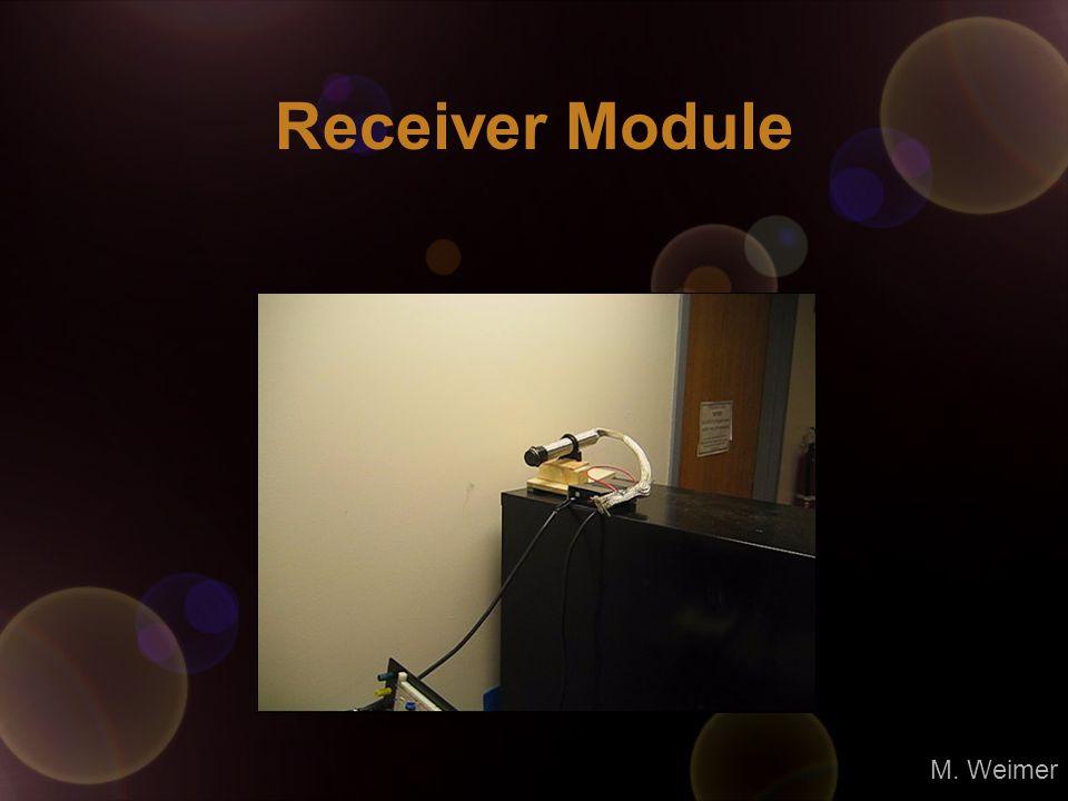 Receiver Module M. Weimer