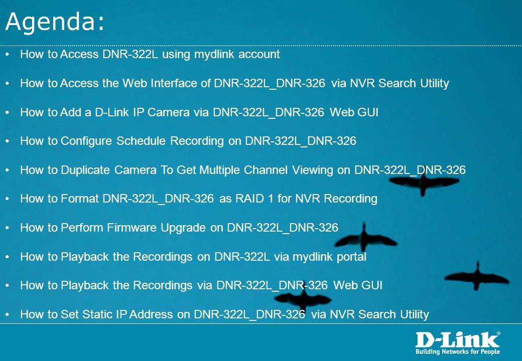 On the D-Link NVR Search Utility, highlight the detected DNR-322L / DNR-326 and then click on the Configuration button