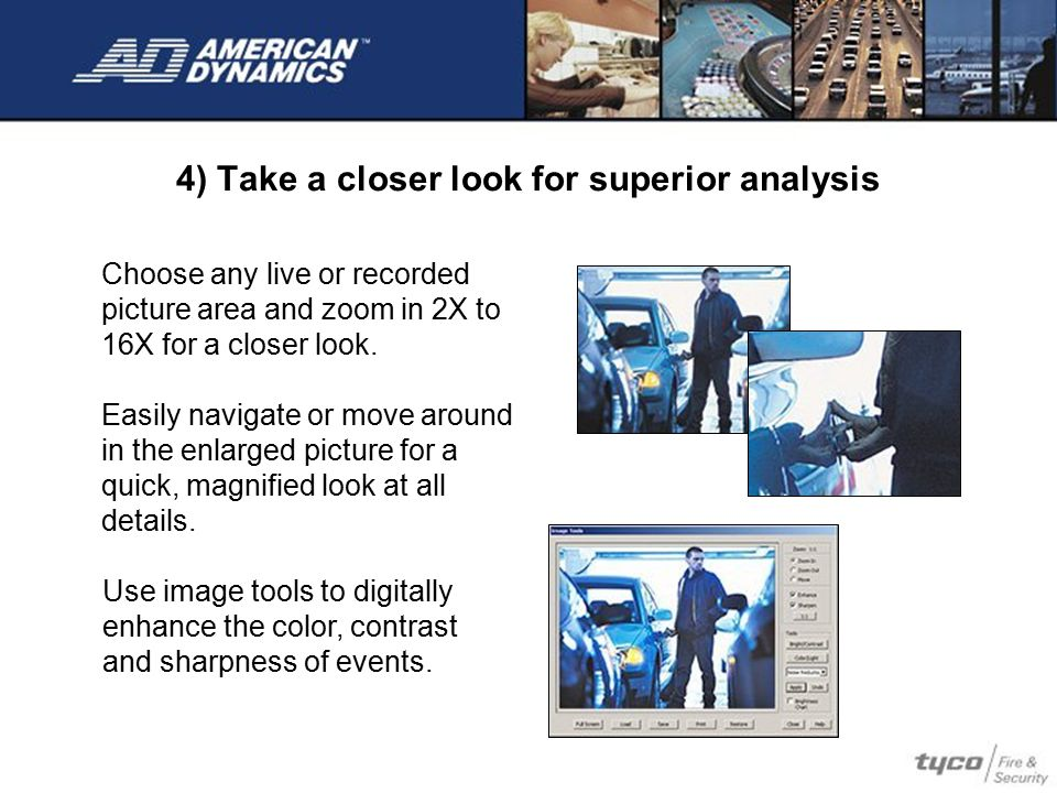 5) One click video exporting saves time and money Collect video for evidence quickly Plus, Intellex gives each image a unique identification stamp that ensures the integrity of any digital video evidence gathered from the system.