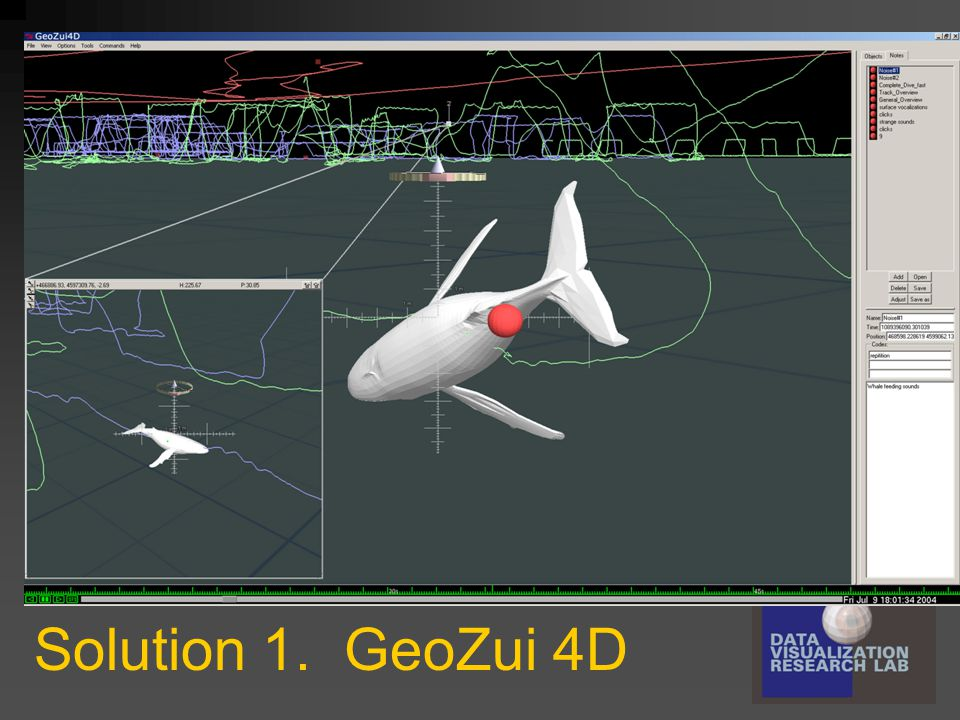 Solution 1. GeoZui 4D