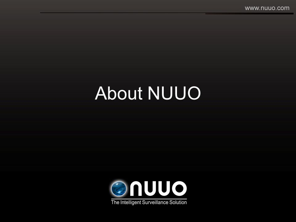 About NUUO