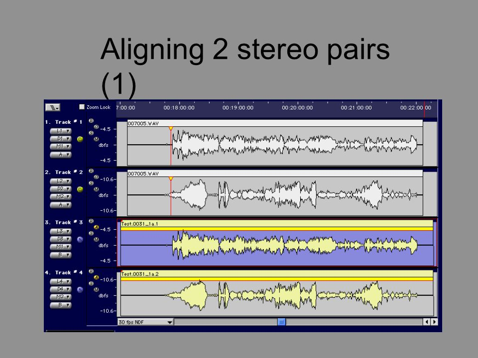 Aligning 2 stereo pairs (1)